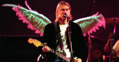 Kurt Cobain designed the logo himself.
