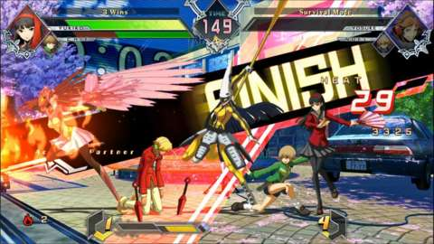 BlazBlue Cross Tag Battle brings back our friends at Yasogami High to meet the casts of BlazBlue, Under Night, and RWBY.