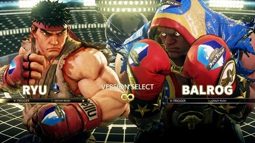 An example of Capcom Pro Tour ads in Street Fighter V
