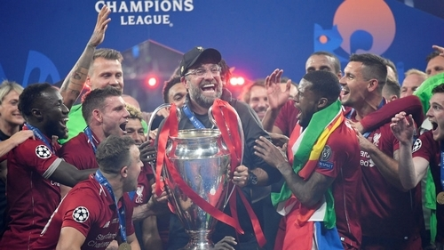 Liverpool beat Tottenham Hotspur to win Champions League trophy