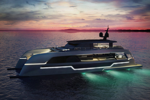 The Supercar-Inspired 120 Sunreef Power Yacht Is Your Future Floating Dream Home