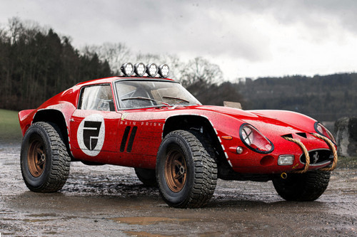 This Classic Ferrari 250 GTO Was Transformed Into a Glorious Off-Road Beast