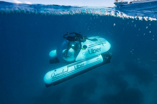 Uber Now Offering Submarine Trips to the Great Barrier Reef With 'scUber'