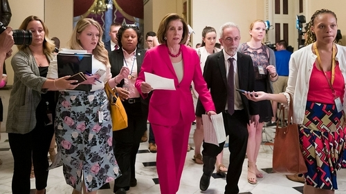 US House passes Senate border aid bill, sends to Trump