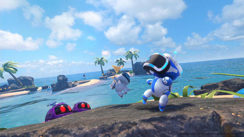 Astro Bot: Rescue Mission was a definite highlight of VR gaming in 2018, exclusive to PSVR.