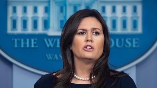 White House spokeswoman Sarah Sanders leaving job at end of June