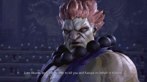 I'm still shocked at how well Akuma was inserted into Tekken 7's story. I envision a similar scenario playing out in Resident Evil 2 where Akuma just happens to walk onto the scene as if he's always been there.