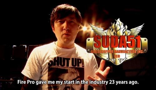 Suda helped promote Fire Pro Wrestling World before it launched in 2017, but now he's actively developing the DLC.