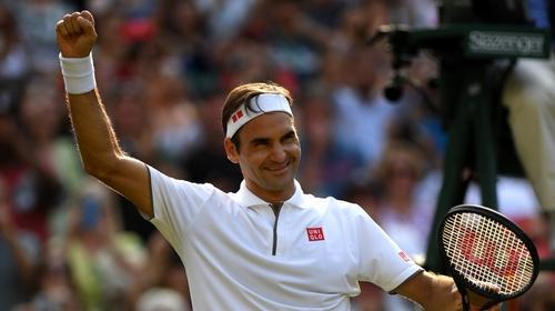Federer, Nadal set up Wimbledon semifinal clash