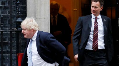 Boris Johnson Jeremy Hunt Reuters