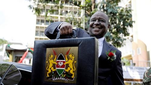 Kenya's finance minister, top officials arrested for corruption