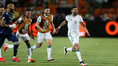 Mahrez's late winner takes Algeria to African Cup final