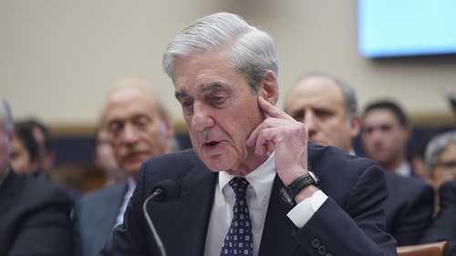 Former Special Counsel Robert Mueller testifies before the House Judiciary Committee during a much-anticipated hearing about Russian interference into the 2016 election, and possible efforts by Presid