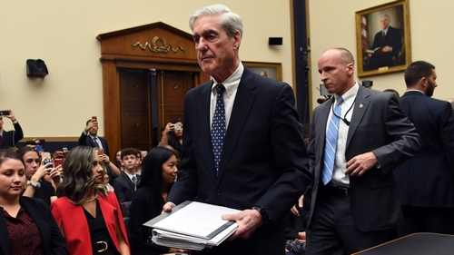 Former Special Prosecutor Robert Mueller arrives to testify before Congress on July 24, 2019, in Washington, DC. Mueller is expected to testify about his two-year report on his investigation of Russia