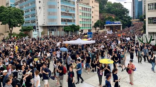 Hong Kong protest 2 Casey Quackenbush/Al Jazeera