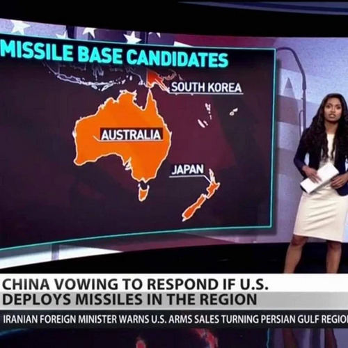 Russia Today puts Japan on the map, where New Zealand should be