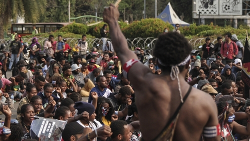 Dozens wounded, detained in West Papua crackdown: Witnesses