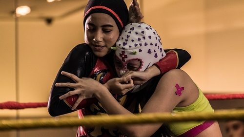 I want people to see me as a wrestler, not just some hijab girl
