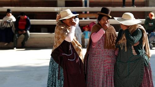 Bolivia election women