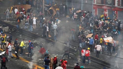 Ecuador Quito protests
