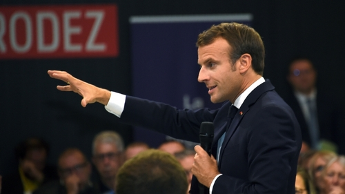 France's Macron holds debate over controversial pension overhaul