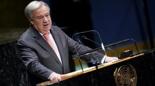 Guterres warns UN may not hold money to pay staff the following month