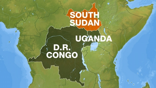Web map - Reliability Sudan, DRC, Uganda