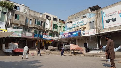 islamabad traders strike Asad Hashim/Al Jazeera