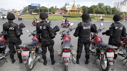 Cambodia - police