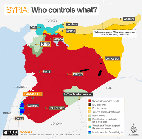 INTERACTIVE: Syria control map Oct 20