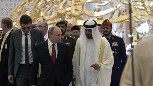 Russia's Putin signs deals really $1. 3bn during UAE visit