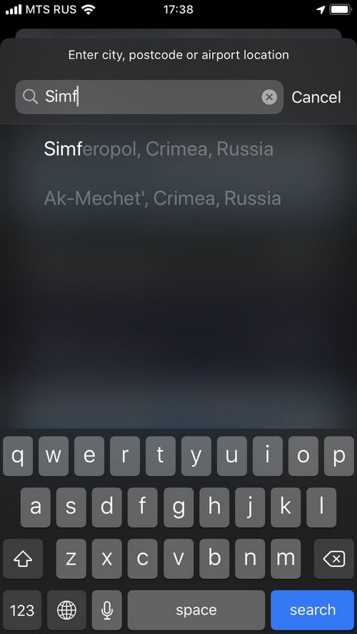 Apple inc. under fire for labelling Crimea as part of Russia inside apps