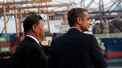 Greece and China hail strategic partnership, as US and EU look on