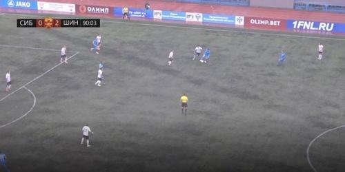 Оба гола «Сибирь» пропустила во втором тайме