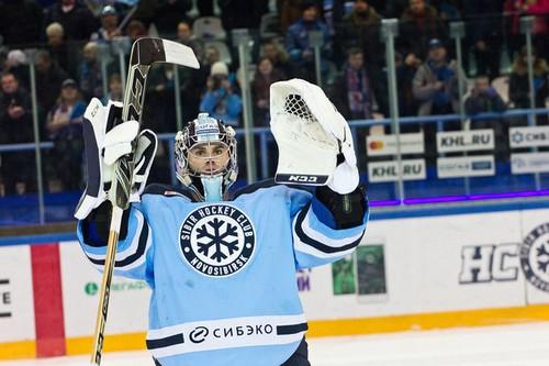 Дэнни Тейлор выступал за «Сибирь» в сезоне 2016/2017