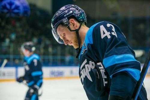 Игнатович начал играть за «Сибирь» в сезоне 2009/2010