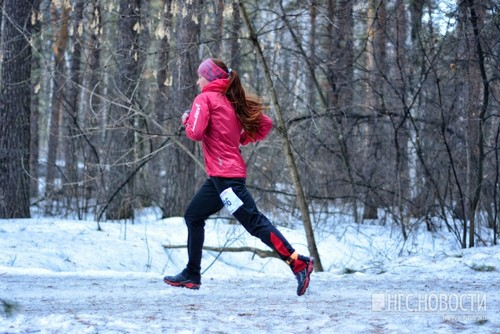 Елена Рухляда. Красиво бежит!