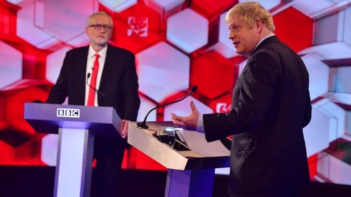 Johnson and Corbyn clash in final UK election debate
