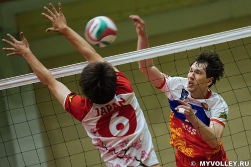 В финале встретились команды из России и Японии