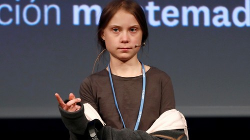 Thunberg arrives at COP25 to lead mass protest