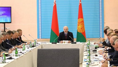 Lukashenko announces intention to change government