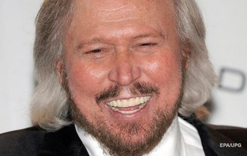 Barry Gibb was awarded a knighthood