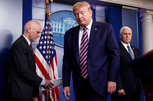 FDA commissioner declines to back Trumps claim 99 per cent of coronavirus cases are harmless