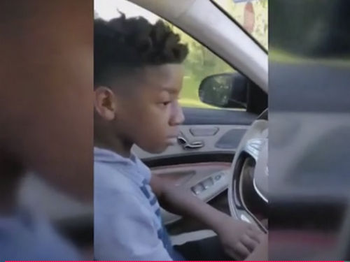 11-year-old helps save sick grandmother by driving her to safety in Mercedes