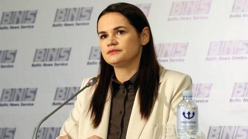 Belarus Opposition Leader Urges Sanctions in UN Address