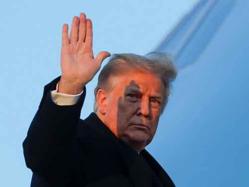 President blames China over Covid bill delay as Fox star calls him 'entitled frat boy'