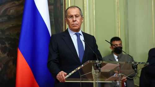 Russian Foreign Minister Says EU 'Destroyed' Relations with Moscow