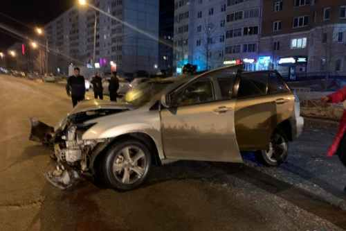 In Novosibirsk, the traffic police arrived at a fatal accident with an hour delay