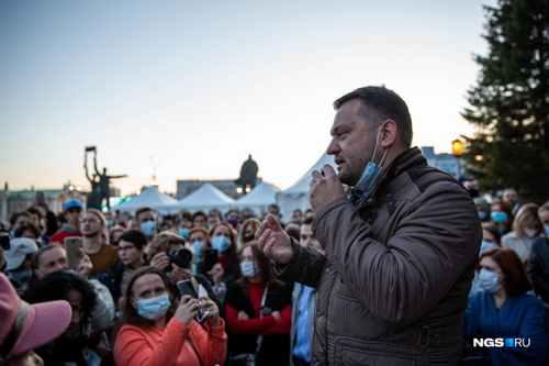Navalny's headquarters to close in Novosibirsk