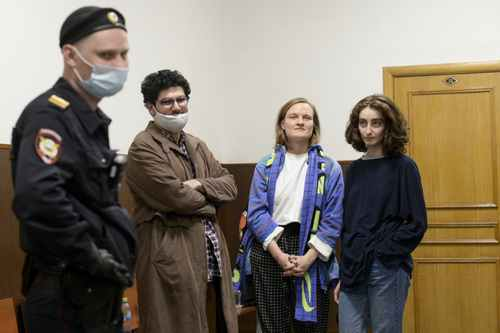 Russian Student Journalists Face Jail Over Navalny Protest Video